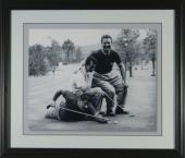 Jimmy Demaret Dean Martin Buddy Hackett Framed Golf Photo SIZE: 11x14 - Framed Size 16x19
