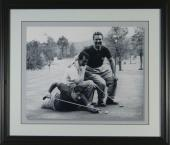 Jimmy Demaret Dean Martin Buddy Hackett Framed Golf Photo SIZE: 16x20 - Framed Size 22x25