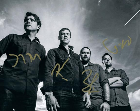 Jimmy Eat World Signed Autographed Photo AFTAL UACC RD RACC TS