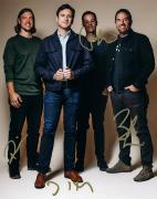 Jimmy Eat World Signed Professional Photo AFTAL UACC RD RACC TS