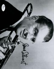 Jimmy James Stewart Glenn Miller Story Jsa Coa Hand Signed 8x10 Photo Autograph