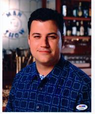 Jimmy Kimmel signed 8x10 photo Jimmy Kimmel Live Man Show PSA/DNA autograph