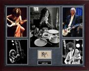 Jimmy Page Led Zeppelin Autographed Signed Photo Display AFTAL UACC RD COA