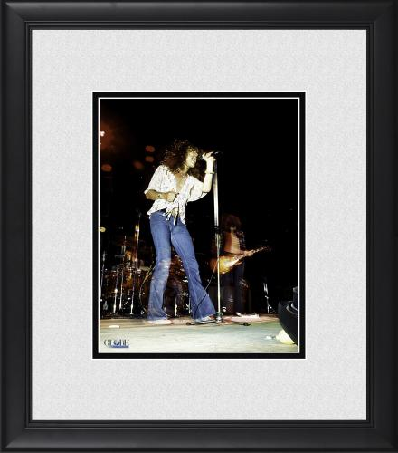 "Jimmy Page Led Zeppelin Framed 8"" x 10"" Photograph"