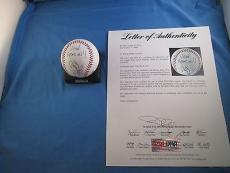 Jimmy Page Led Zeppelin Signed OML Baseball PSA DNA COA Letter Autograph