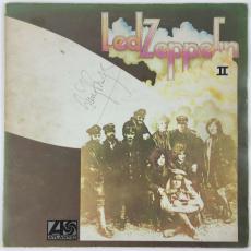 Jimmy Page Robert Plant John Bonham +1 Signed Autographed Led Zeppelin II PSA