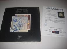 JIMMY PAGE, ROBERT PLANT & JOHN PAUL JONES Signed LED ZEPPELIN Album w/ PSA LOA