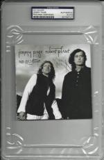 """Jimmy Page Signed """"no Quarter"""" Cd Cover Led Zeppelin Psa/dna Encap 83786747"""