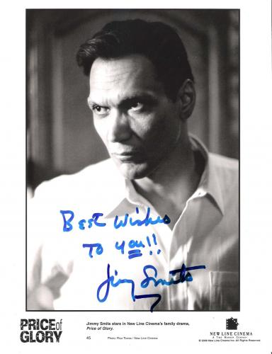 "JIMMY SMITS in the ""PRICE of GLORY"" Also Starred in TV Series ""L.A. LAW"", ""NYPD BLUE"", and ""THE WEST WING"" Signed 8x10 B/W Photo"
