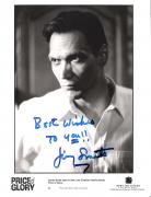 """JIMMY SMITS in the """"PRICE of GLORY"""" Also Starred in TV Series """"L.A. LAW"""", """"NYPD BLUE"""", and """"THE WEST WING"""" Signed 8x10 B/W Photo"""