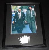 Denis DeJordy Signed Photo - Jimmy Smits Framed 11x14 Display NYPD Blue w Dennis Franz
