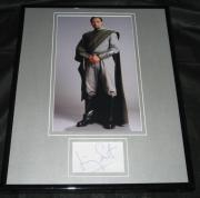 Jimmy Smits Signed Framed 11x14 Photo Display JSA Star Wars