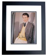 Jimmy Stewart Autographed Vintage 8x10 Photo BLACK CUSTOM FRAME - James Stewart