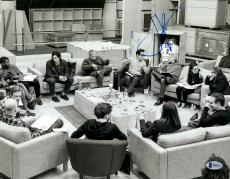 "J.J. Abrams Autographed 11"" x 14""- Cast Reading With Harrison Ford Star Wars The Force Awakens Photograph Beckett COA"