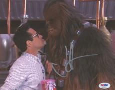 """J.J. Abrams Autographed 8""""x 10"""" Star Wars: The Force Awakens with Chewbacca Photograph - BAS COA"""