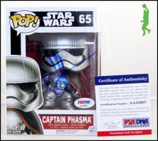 J.j. Abrams Autographed Signed Star Wars Captain Phasma Funko Pop Jj Psa Coa