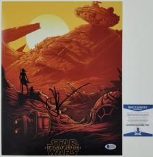 JJ ABRAMS Signed 11x14 Photo #8 Star Wars The Force Awakens w/ BAS Beckett COA