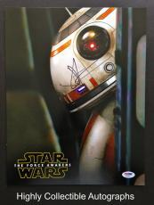 Jj Abrams Signed 11x14 Photo Psa Dna Coa Star Wars The Force Awakens Bb-8
