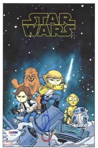 J.J. Abrams Signed 6.5x10 Star Wars Photo Autographed PSA/DNA #AB81454