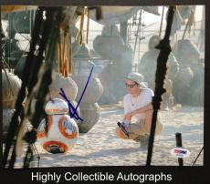 Jj Abrams Signed 8x10 Photo Autograph Psa Coa Star Wars The Force Awakens 31620