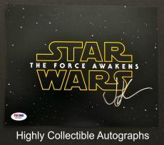 Jj Abrams Signed 8x10 Photo Autograph Psa Coa Star Wars The Force Awakens Z37689