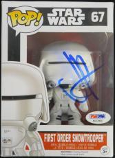 J.J. Abrams Signed Authentic Snowtrooper Star Wars Funko Pop PSA/DNA #AA33906