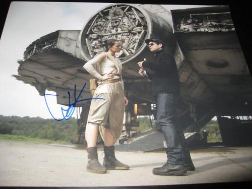 JJ ABRAMS SIGNED AUTOGRAPH 11x14 PHOTO STAR WARS THE FORCE AWAKENS PROMO COA D