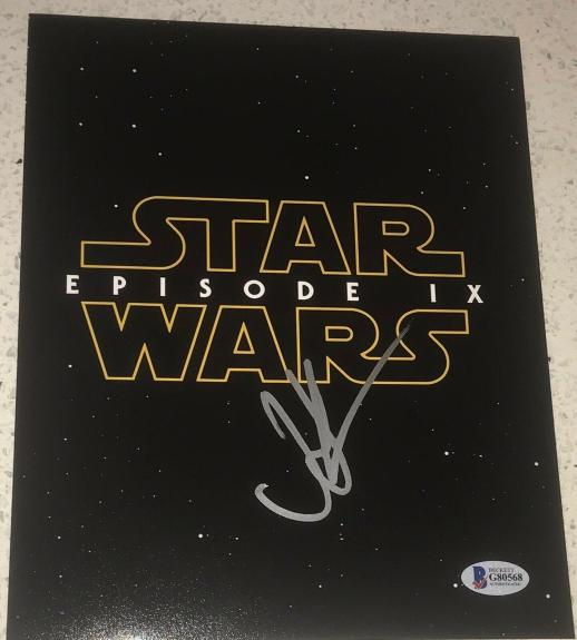 JJ ABRAMS - SIGNED AUTOGRAPH 8x10 NEW POSTER PHOTO - STAR WARS EPISODE IX 9 BAS