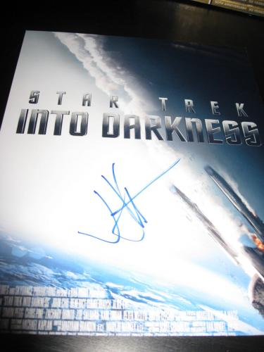 JJ ABRAMS SIGNED AUTOGRAPH 8x10 PHOTO STAR TREK PROMO POSTER PHOTO IN PERSON D