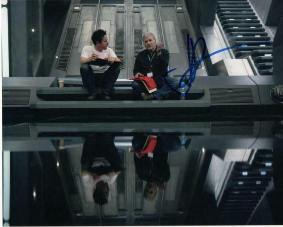 Jj Abrams Signed Autograph 8x10 Photo Star Wars The Rise Of Skywalker, Lost Trek