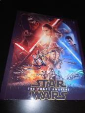 JJ ABRAMS SIGNED AUTOGRAPH 8x10 POSTER PHOTO STAR WARS THE FORCE AWAKENS COA B