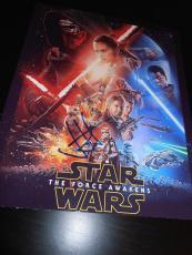 JJ ABRAMS SIGNED AUTOGRAPH 8x10 POSTER PHOTO STAR WARS THE FORCE AWAKENS COA D