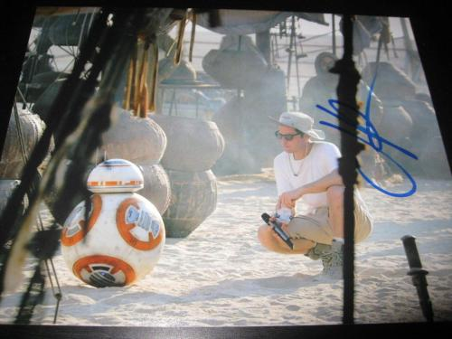 JJ ABRAMS SIGNED AUTOGRAPH 8x10 STAR WARS THE FORCE AWAKENS PROMO COA AUTO NY X8