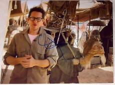 "J.j. Abrams Signed Autograph ""star Wars"" Episode Vii 7 Official Set Props Photo"