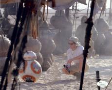 J.J. Abrams Signed Autographed 11X14 Photo Star Wars: Force Awakens JSA U76369