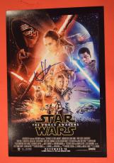 JJ Abrams Signed Autographed Star Wars 12x18 Movie Poster The Force Awakens