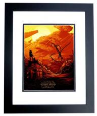 J.J. Abrams Signed - Autographed Star Wars The Force Awakens Director 8x10 inch Photo - Guaranteed to pass PSA/DNA or JSA - BLACK CUSTOM FRAME - JJ Abrams