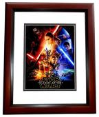 J.J. Abrams Signed - Autographed Star Wars The Force Awakens Director 8x10 inch Photo - Guaranteed to pass PSA/DNA or JSA - MAHOGANY CUSTOM FRAME - JJ Abrams