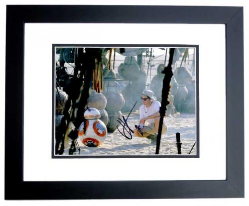 J.J. Abrams Signed - Autographed Star Wars: The Force Awakens Episode 7 Director 11x14 inch Photo BLACK CUSTOM FRAME - Guaranteed to pass PSA or JSA - JJ Abrams