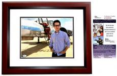 J.J. Abrams Signed - Autographed Star Wars: The Force Awakens Episode 7 Director 11x14 inch Photo MAHOGANY CUSTOM FRAME - JSA Certificate of Authenticity
