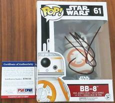 J.J. Abrams Signed BB-8 Funko Pop Bobble-Head Figure Star Wars PSA/DNA