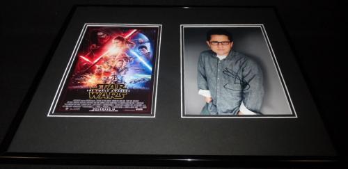 JJ Abrams Signed Framed 16x20 Photo Display AW Star Wars Force Awakens D