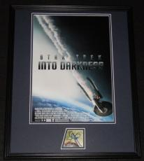 J.J. Abrams Signed Framed 16x20 Poster Display JSA Star Trek Into Darkness
