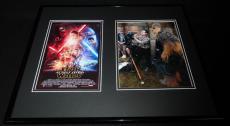 JJ Abrams Signed Framed 16x20 Photo Display JSA Star Wars Force Awakens