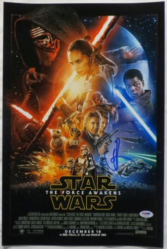 JJ Abrams Signed Star Wars Authentic Autographed 12x18 Photo PSA/DNA #AA33936