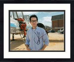 J.J. ABRAMS signed (STAR WARS FORCE AWAKENS) MOVIE Director 8X10 photo W/COA #1