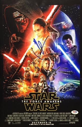 JJ Abrams Signed Star Wars 'The Force Awakens' 12x18 Photo PSA Y50925
