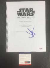 J.j. Abrams Signed Star Wars: The Force Awakens Full Movie Script Psa/dna Coa 2