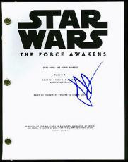J.J. Abrams Signed Star Wars The Force Awakens Script PSA/DNA #AB62001