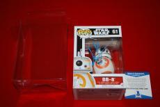 JJ ABRAMS star wars BB-8 the force awakens signed funko pop beckett w/case COA